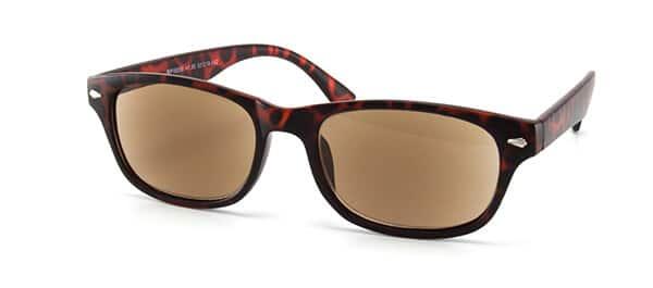solbriller med styrke og glidende overgang