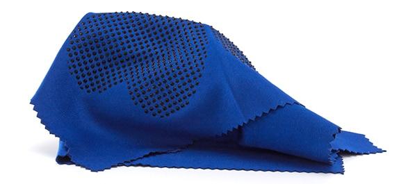 Pudseklud - blå